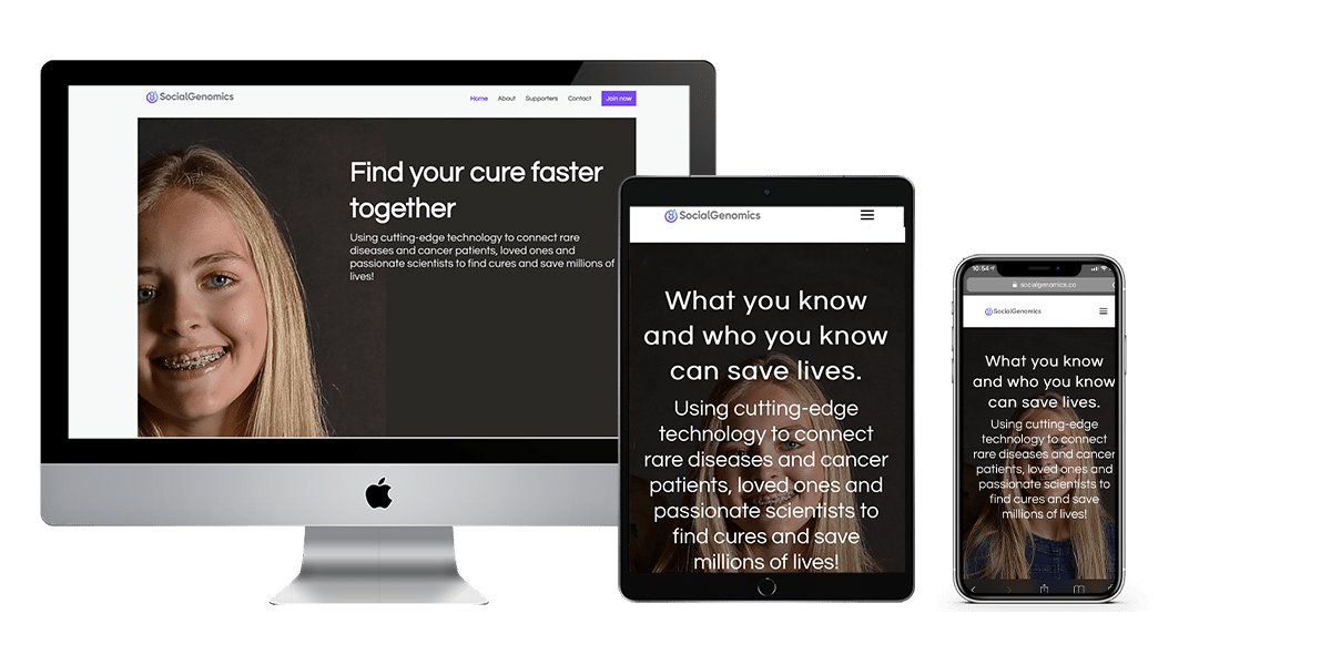 Homepage Social Genomics